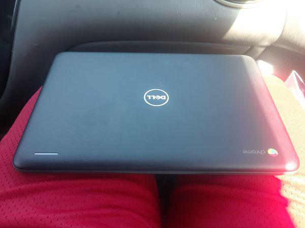 laptop and Google home mini