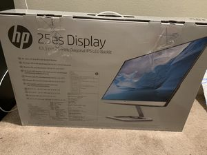 """Hp 25"""" monitor screen for Sale in Issaquah, WA"""