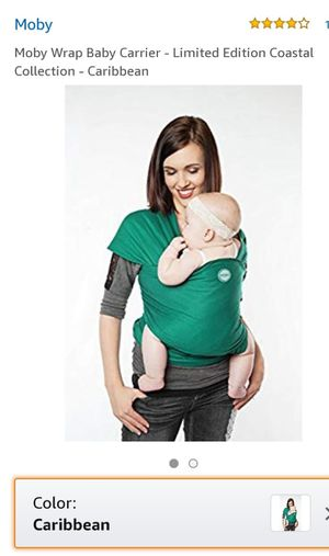 Moby wrap baby carrier, used once, for Sale in WARRENSVL HTS, OH