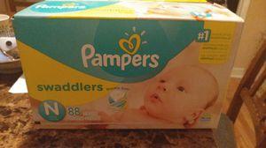 Pampers swaddlers newborn for Sale in Roseville, MI