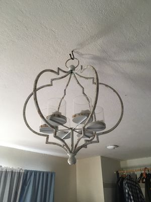 Art Deco candle chandelier for Sale in San Jose, CA