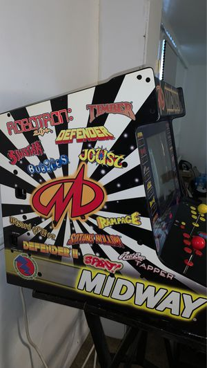 Midway 12 game arcade. With stand. Classic. Vintage console obo for Sale in Littleton, CO