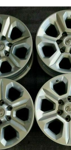 "4 Toyota 4Runner Tacoma 17"" Factory OEM Silver Wheels Rims 75153 for Sale in Alexandria,  VA"