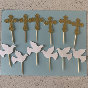 Bautizo cupcake toppers cake for Sale in Bellflower, CA