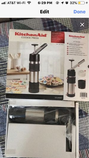 KitchenAid Cookie Press NEW for Sale in North Salt Lake, UT
