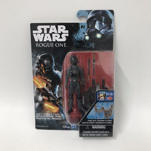Disney Star Wars rogue one imperial ground crew action figure for Sale in San Fernando, CA
