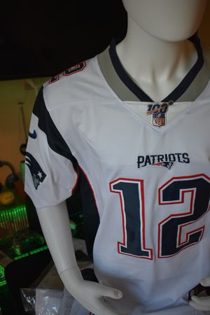 Patriots jersey,100th Anniversary 2019 jerseys. Brady .Edelman . Pick up or ship. for Sale in Boston, MA