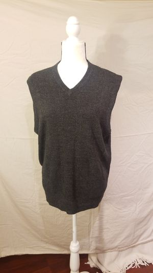 DOCKERS Extra Soft Charcoal Grey Sweater Vest for Sale in Seattle, WA
