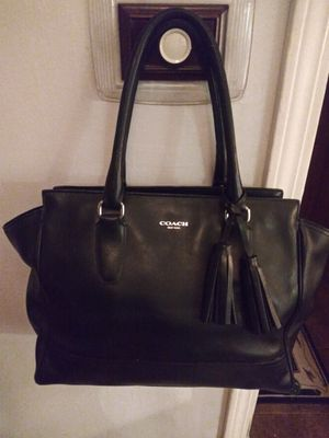 Authentic leather Flagship Coach purse for Sale in Arlington Heights, IL
