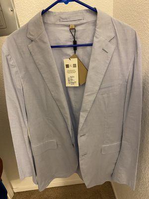 NEW- Burberry London England Blazer Size 42 (L) 52R UK for Sale in Fresno, CA