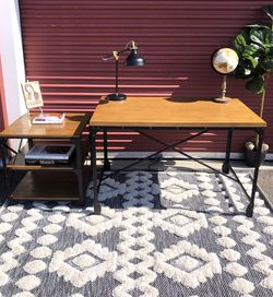Farmhouse Desk With Matching Side Table for Sale in San Diego,  CA