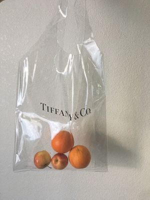 Tiffany & Co. Authentic Vinyl Shopping Tote for Sale in Milpitas, CA