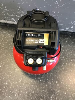 Porter cable air compressor for Sale in Midvale, UT