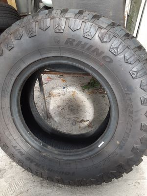 One new 15 inch tire 40 and 20 inch rims best offer takes them for Sale in Bartow, FL