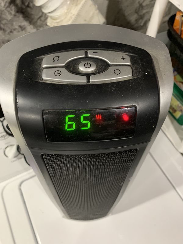 Thermostatically controlled heater by Lasko.