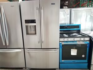 BRAND NEW MAYTAG 2019 COMBO (5BURNER GAS RANGE/FRENCH DOOR FRIDGE)🏡WE DELIVER SAME DAY! for Sale in Dana Point, CA