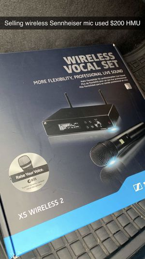 Sennheiser Wireless Microphone Used But Works Like New for Sale in Dixmoor, IL