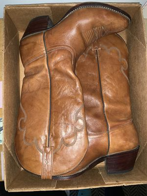 Genuine leather cowgirl boots! for Sale in Azusa, CA
