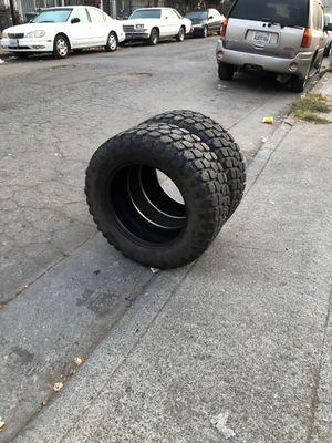 Two used tires/Dos llantas usadas 35x12.5 20 for Sale in Oakland, CA