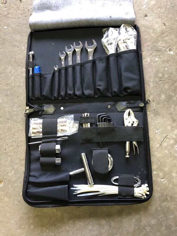 Motorcycle tool set