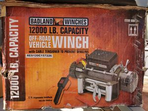 Badland Wenchs 12000lb capacity for Sale in HUNTINGTN BCH, CA