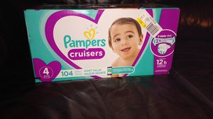Pampers Cruisers Size 4 NEW!!! (. 2 boxes) for Sale in Vancouver, WA