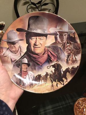 John Wayne Collector Plate for Sale in Dallas, TX