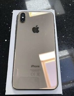Apple iPhone XS Max - 256GB - Gold (Unlocked) for Sale in Little River, KS