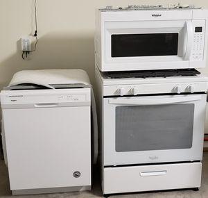 Whirlpool appliance bundle for Sale in Houston, TX