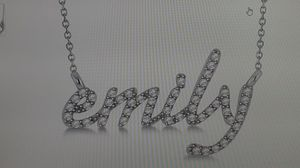 We can make name charms Gold ,silver 10kt ,14kt Cuban zirconia and real Diamonds for Sale in Suwanee, GA