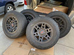 TRD PRO OEM TOYOTA 4Runner Tacoma Nitto Grappler Rims Tires OEM for Sale in Diamond Bar, CA