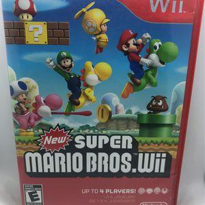 New Super Mario Bros Wii Nintendo Wii for Sale in Corona, CA