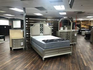 Champagne Bedroom Set for Sale in Kent, WA
