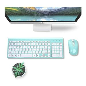 Wireless Keyboard Mouse Combo,Compact Full Size Wireless Set 2.4G Ultra-Thin Sleek Design for Windows,Computer,Desktop,PC,Notebook,Laptop for Sale in Sloan, NV