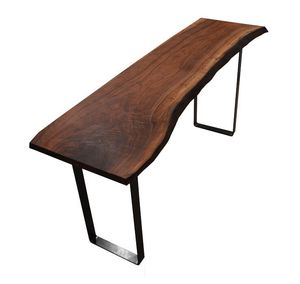 Walnut Live Edge Console Table for Sale in Seattle, WA