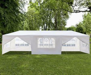 10x30 feet 8 walls 2 doors Gazebo Canopy Tent for weddings parties bbq restaurants outdoor festivities for Sale in Miami, FL