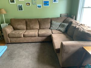 FREE brown sectional sofa for Sale in Revere, MA