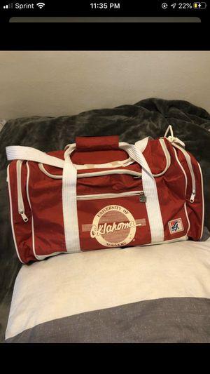 Oklahoma Sooners Vintage Duffle Bag for Sale in Milwaukee, WI