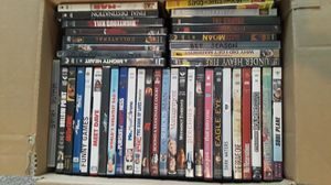 Box full of dvds for Sale in Spring Hill, FL