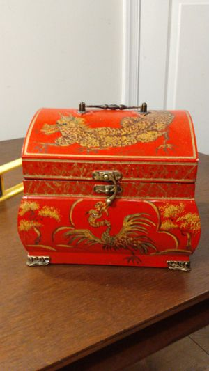 Japanese dragon treasure chest keepsake box for Sale in North Chesterfield, VA