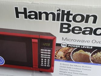 Hamilton Beach Red Microwave for Sale in Bonney Lake,  WA