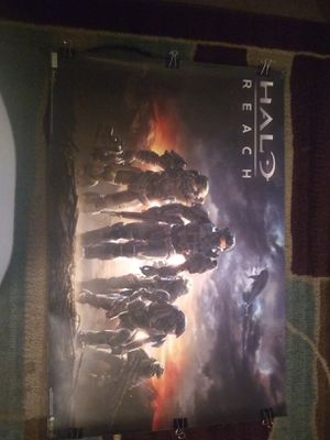 HALO REACH Horizontal poster for Sale in Bakersfield, CA