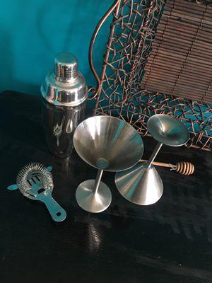 Martini Barware Set for Sale in Chicago, IL