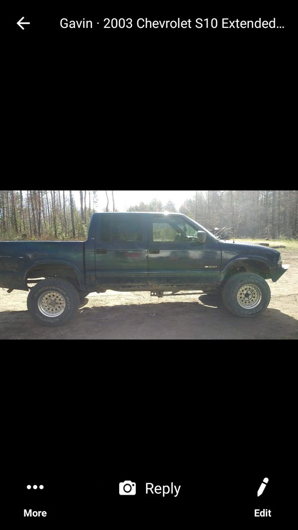 2003 lifted chevy s10