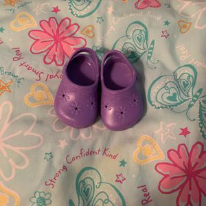 American Girl Doll Purple Gardening Shoes for Sale in Satellite Beach, FL
