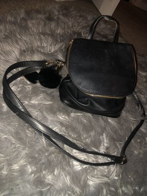 Black & gold backpack purse for Sale in Newhall, CA