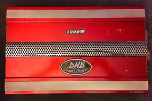 DHD Power Cruiser NTX 2136 Amplifier - 1000 Watts 2 Channel for Sale in Noblestown, PA