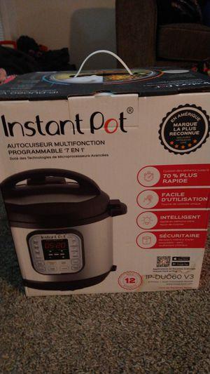 Instant pot for Sale in Dallas, TX