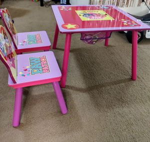 PAW Patrol Wood Kids Storage Table and Chairs Set for Sale in Monroeville, PA