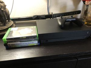 X box one and x box one games for Sale in Anaheim, CA